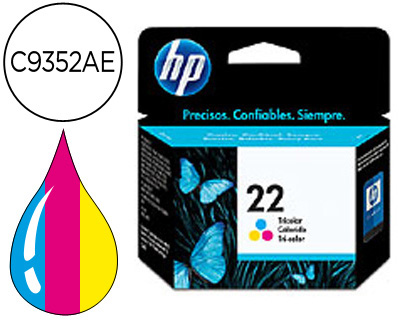 INK-JET HP N.22 TRICOLOR -5ML- DJ 3920/3940/D2360/F380 PSC 1410