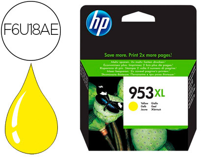 INK-JET HP 953XL OFFICEJET PRO 7730-7740/8710/8715 /8720/8725/8730/8740/ 8745 AMARILLO 1.600 PAG